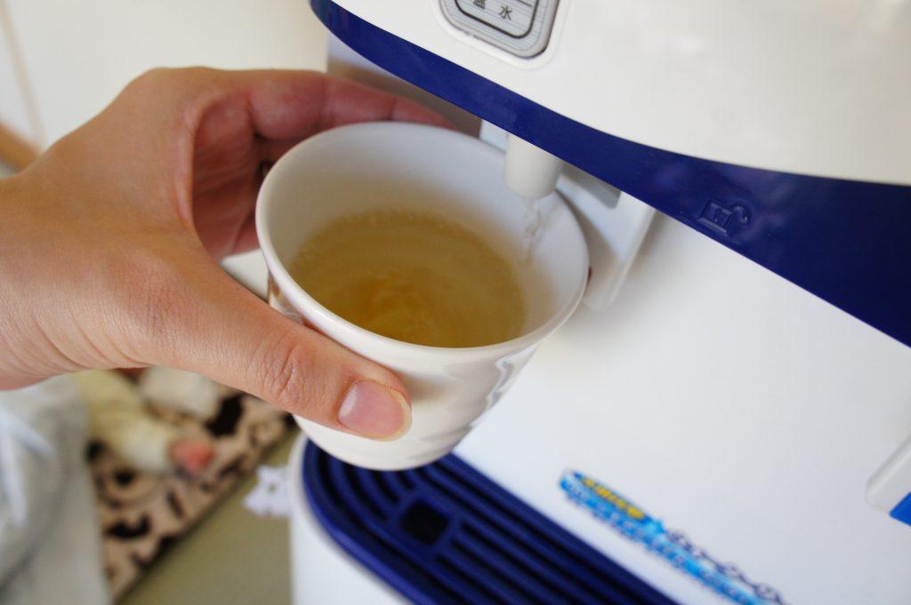 ゆず茶とウォーターサーバー